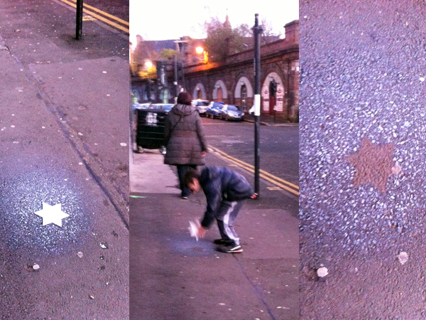 """2.Dec - NADFLY, Glasgow """"We only see the stars once they are gone."""""""