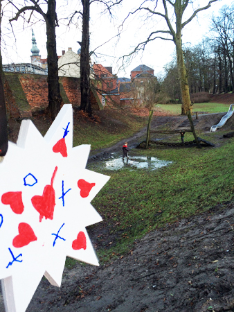 21. Dec - Angus (4 Years), playground at the old ramparts, Greifswald, Germany -