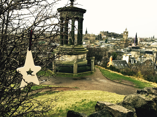 6.Dec: Omar Hosam-Aldeen, Calton Hill, Edinburgh, Scotland -