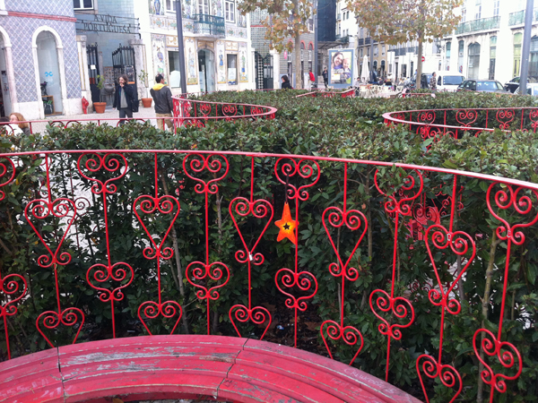 21.Dec: Rita Pacheco, Largo do Intendente, Lisboa, Portugal -